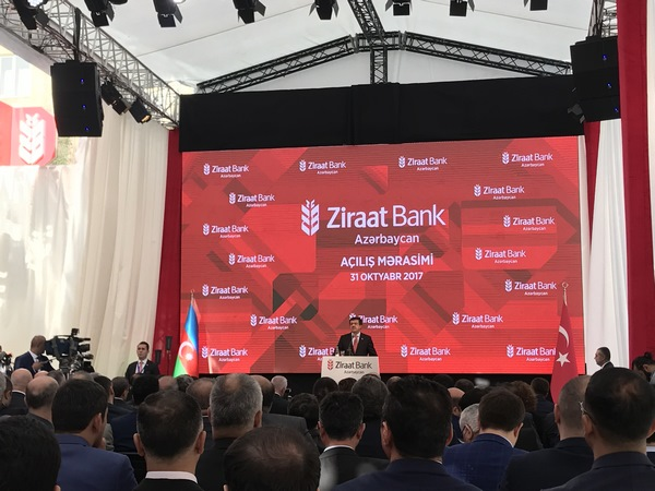 Ziraat Bank Head Office Opening Ceremony (2017)
